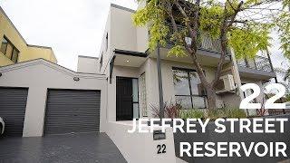 22 Jeffrey Street Reservoir