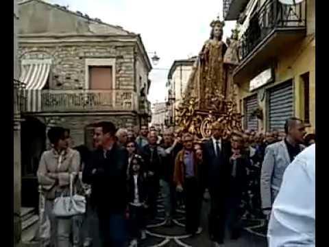 Preview video Video processione Madonna del Carmine 2016 tratto dalla diretta streaming Laurenzana 16 luglio 2016