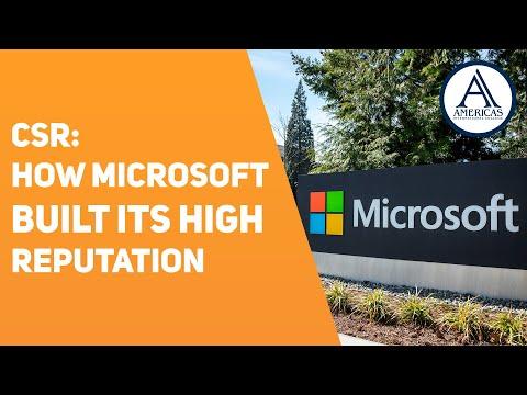 Corporate Social Responsibility: Microsoft Case Study - YouTube