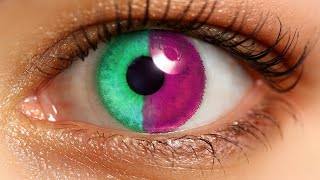 8 RAREST Eye Colors In Humans!