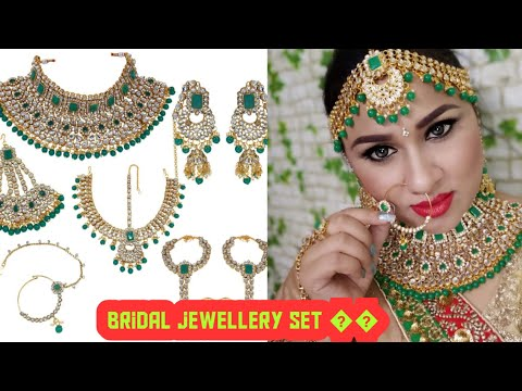 Bridal Jewellery Set Review | Amazon Jewellery Review | Online Jewellery shopping Review