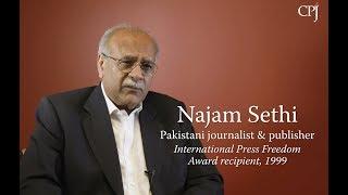 Najam Sethi Speaks Out on Plight of Press Freedom in Pakistan