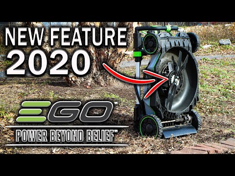 Newest EGO Battery Powered Lawn Mower NEVER SEEN BEFORE!