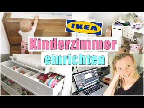 Leona bekommt ihr neues Kinderzimmer | IKEA Möbel aufbauen | 26 SSW | Isabeau