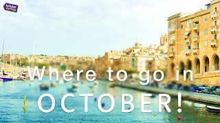Where is a good time to travel in october