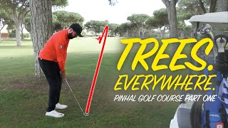 TREES... TREES EVERYWHERE | Peter Finch Vs Rick Shiels | Pinhal Golf Course: Part 1