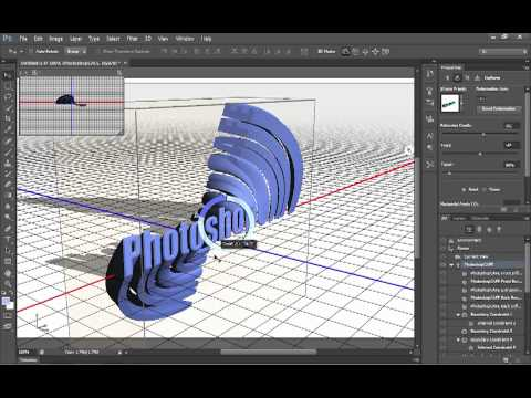 3d support in photoshop cs6 how to work creatively and quickly