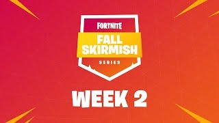 Fortnite #FallSkirmish - Week 2 | ROYALE FLUSH (SOLOS)
