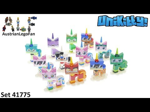 Lego Unikitty 41775 Unikitty Blind Bags Series 1 - All 12 Figures - Lego Speed Build Review