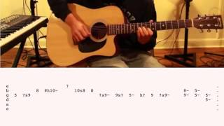 "How To Play ""Stay With Me"" by Sam Smith on Guitar (Cover by Ely Jaffe) w/ TABS!!!"