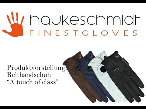 "HaukeSchmidt Finestgloves' ""A touch of class"" Reithandschuh"