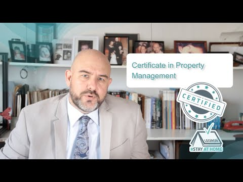 Live Virtual Training -Certificate In Property Management program ...