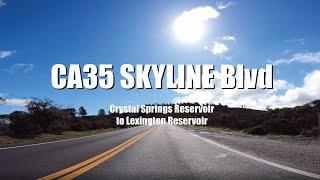 4K Drive Panoramic CA-35 Skyline Blvd No Cut FPV