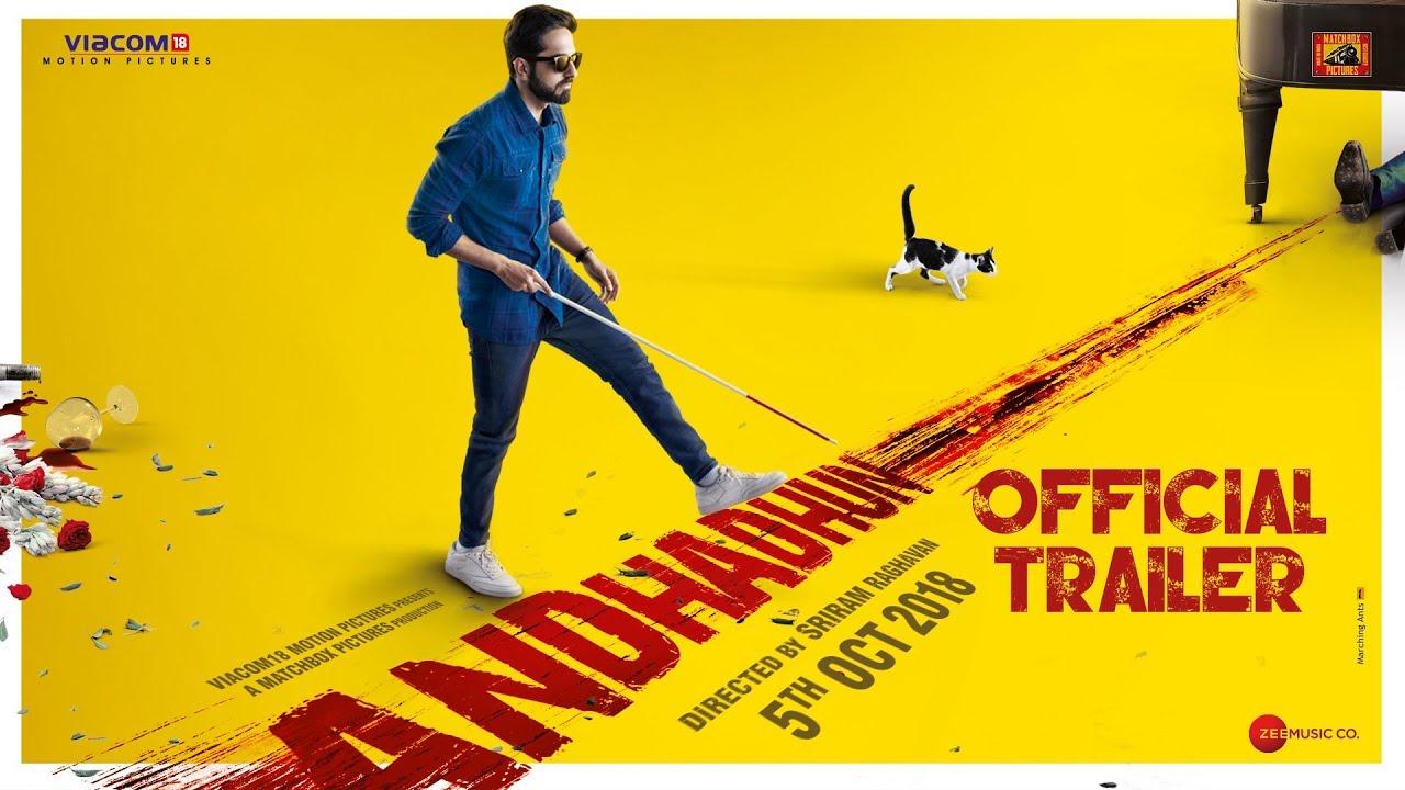 AndhaDhun movie trailer analysis