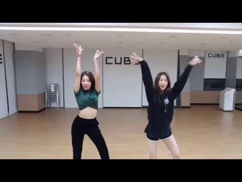 Seungyeon & Yujin (CLC) dance cover - Lip & Hip [HyunA] - You In Me  [KARD] - DNA(BTS)