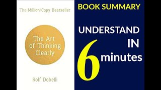 【Fast Learning】The Art of Thinking Clearly By Rolf Dobelli