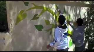 preview picture of video 'Atelier d'arts plastiques, collège Imame Bokhari à Jerada'