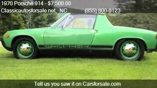 1970 Porsche 914  for sale in Nationwide, NC 27603 at Classi #VNclassics
