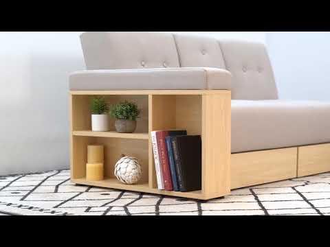 Massimo Multifunction Sofa Bed With Storage Living Room Furniture Sg Bedandbasics