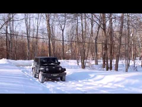 How To Drive Your Jeep Wrangler With 4wd In The Snow
