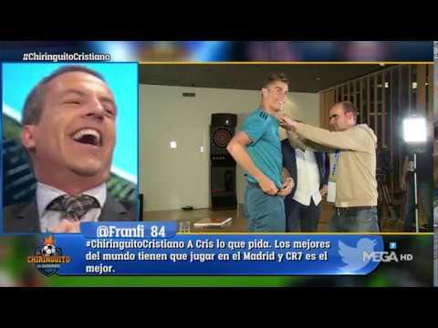 ¡BRUTAL! Cristiano CANTÓ '¿DÓNDE ESTÁ CR7?' y Cristobal Soria ALUCINA