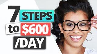 7 Week Passive Income Strategy - How I Earn $600 A Day! | Marisa Romero