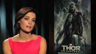 THOR's Jaimie Alexander On Becoming Mrs. Loki & Rejecting Tough Chick Roles