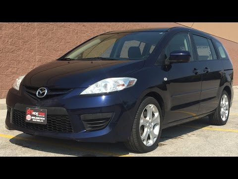 2009 Mazda 5 GS - Automatic, Alloy Wheels, 6 Passenger   For Sale in Winnipeg, MB