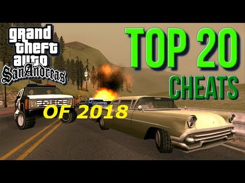New And Latest Cheats Of GTA San Andreas (namaste America) Video By Game Hackers