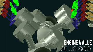 V6  ENGINE ANIMATION