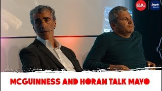McGuinness And Horan On Managing Mayo | #OTBCrokePark