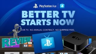 Apple TV 4 PlayStation Vue App Full Review