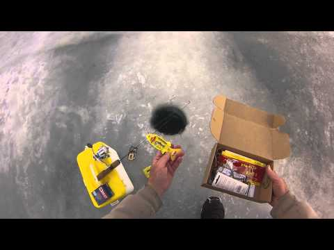 Best ever Mystery Tackle Box on Ice fishing lures Tips and Tricks.
