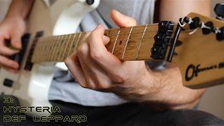 Top 20 Clean Guitar Riffs