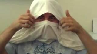 How To Make A T-Shirt Ninja Mask