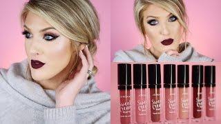 Jordana Sweet Cream Matte Liquid Lipstick Swatches⎮First Impression