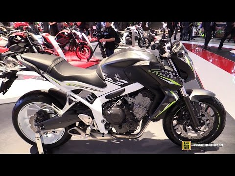 2016 Honda CB650F - Walkaround - 2015 EICMA Milan