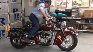 Kiwi Indian Motorcycles How To Start And Ride Your Indian Motorcycle