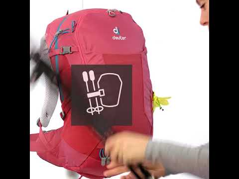 Видео о Рюкзак Deuter Futura 28 clay-ivy 3400518 6205