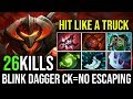 Hit Like a Truck [Chaos Knight] Blink Dagger on Ck Means no Escape 27KIlls By ixmike88 | DotA 2