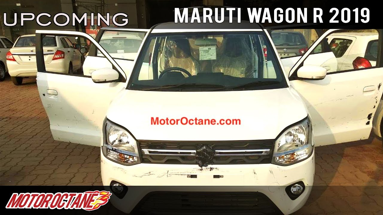 Motoroctane Youtube Video - Maruti Wagon R 2019 Images LEAKED | Hindi | MotorOctane