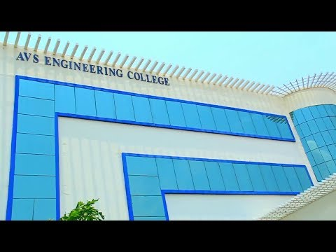 AVS Engineering College video cover3