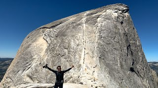 Hiking Half Dome at Yosemite National Park - Full Hike