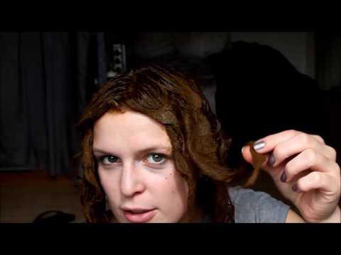 Mit Henna Haare färben + Vorher Nachher Vergleich