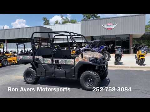 2020 Kawasaki Mule PRO-FXT EPS Camo in Greenville, North Carolina - Video 1