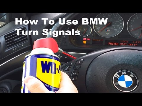 How To Use BMW Turn Signals!
