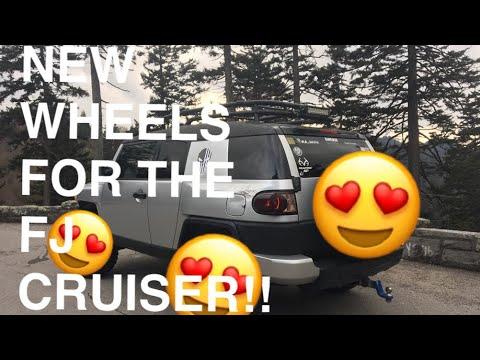 I got new wheels for my FJ cruiser!