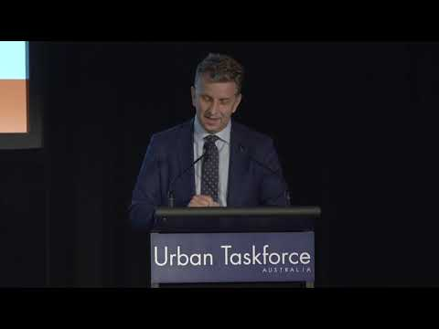 Transport Minister Andrew Constance: Urban Taskforce 'Cities Shaped By Transport' Conference, November 2019