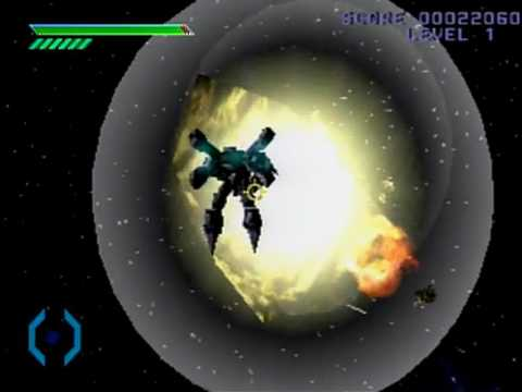Omega Boost PS1 Gameplay - смотреть онлайн на Hah Life
