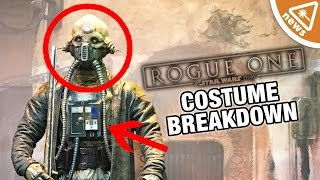 Star Wars Rogue One New Characters and Costumes Breakdown! (Nerdist News w/ Jessica Chobot)